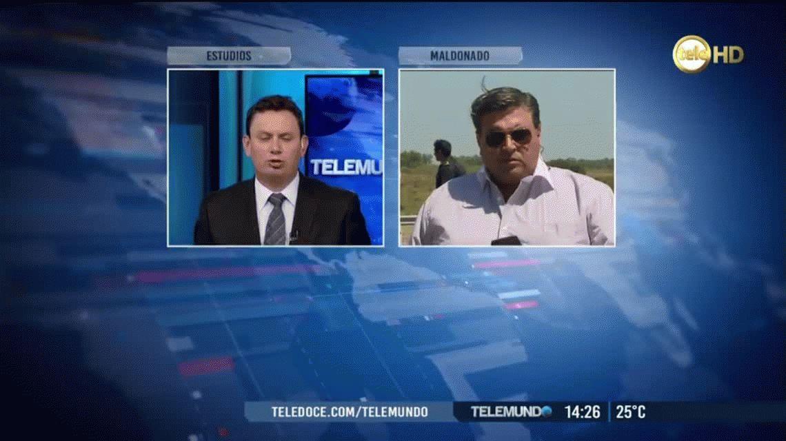Uruguay: dos argentinos graves por un choque en ruta hacia Punta del Este