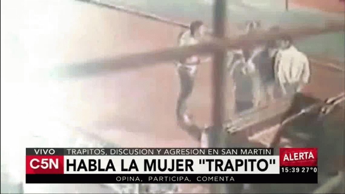 Habló la mujer del video del trapito: Leonel me faltó al respeto