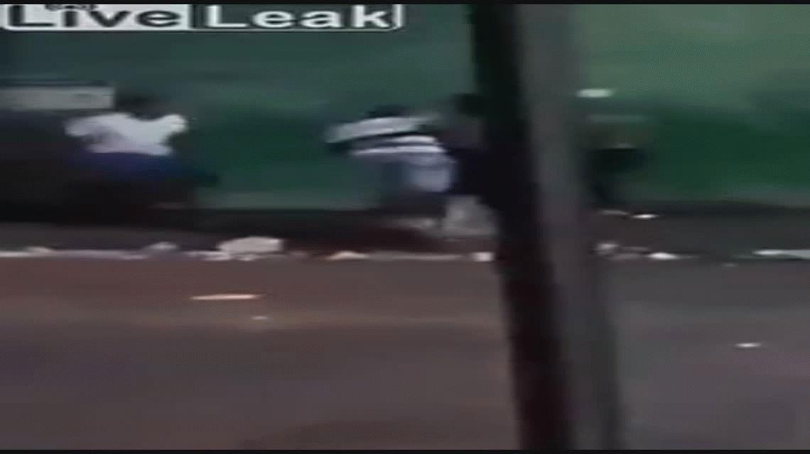 Video: brutal asesinato durante una pelea callejera en Brasil