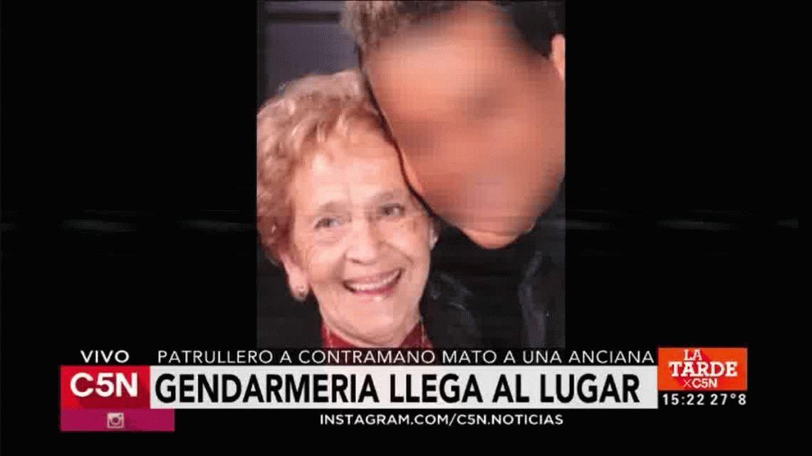 Detuvieron a los policías que atropellaron y mataron a una anciana en Villa Ballester