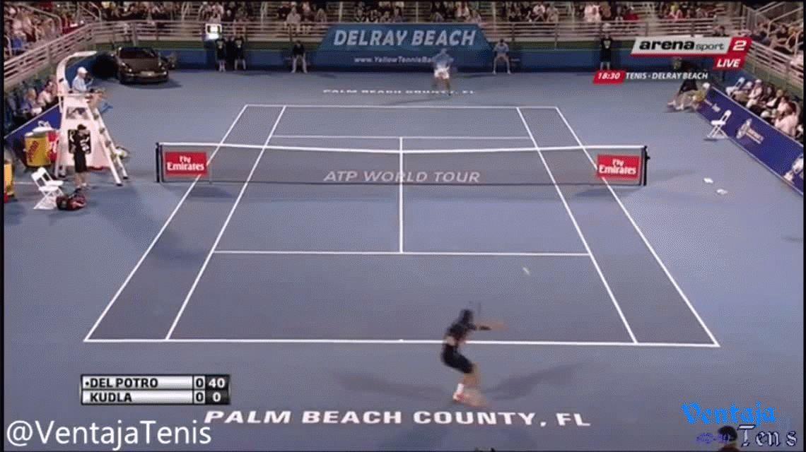 VIDEO: Así fue el triunfo de Del Potro en su regreso al tenis