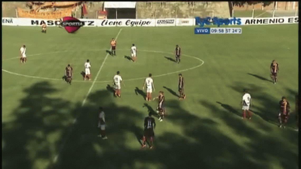 En Europa no se consigue: un árbitro terminó el primer tiempo diez minutos antes