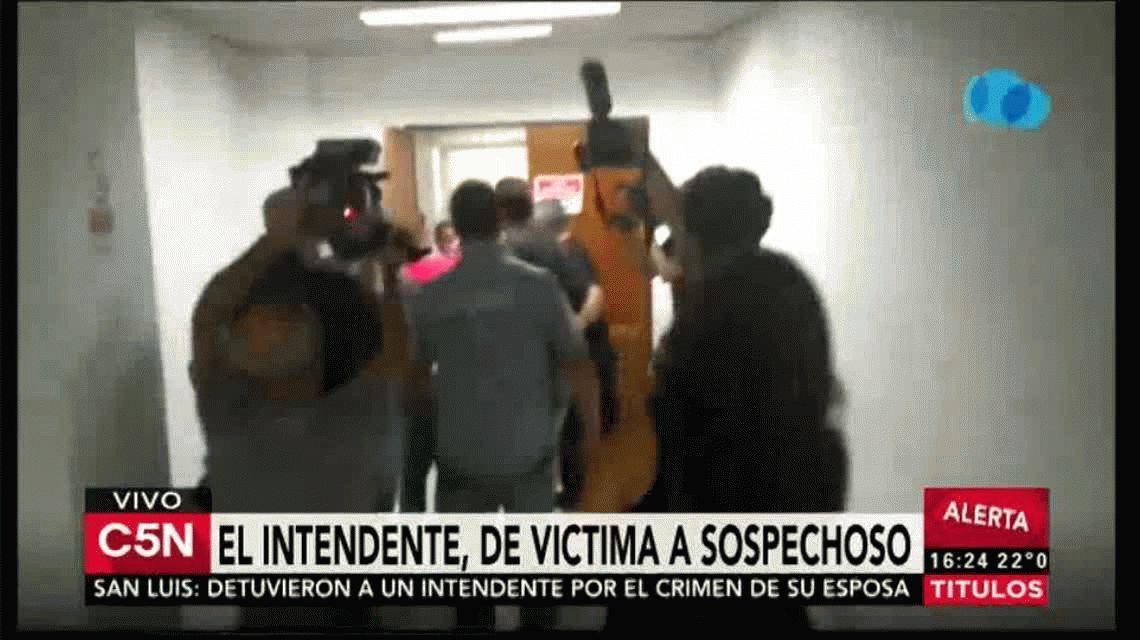 El intendente de La Calera fue detenido por el crimen de su esposa