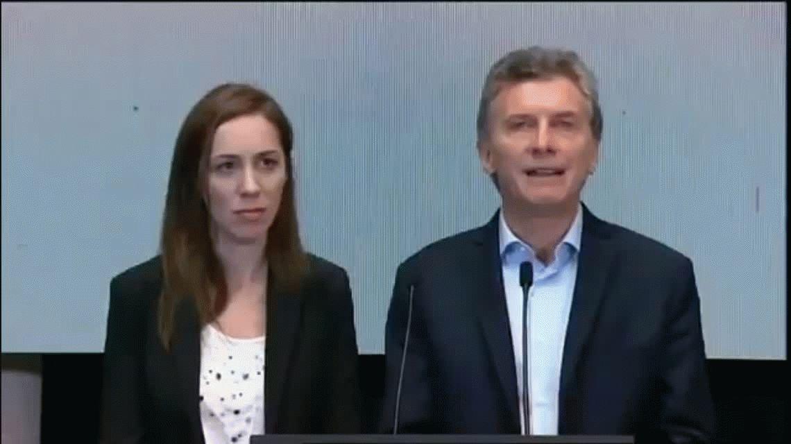 El fallido en el discurso de Macri que tuvo que corregir el taquígrafo