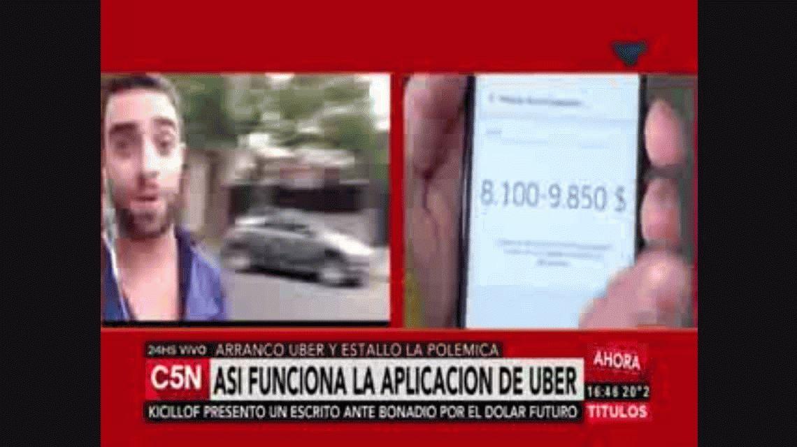 Arrancó Uber: así es un recorrido por la Ciudad