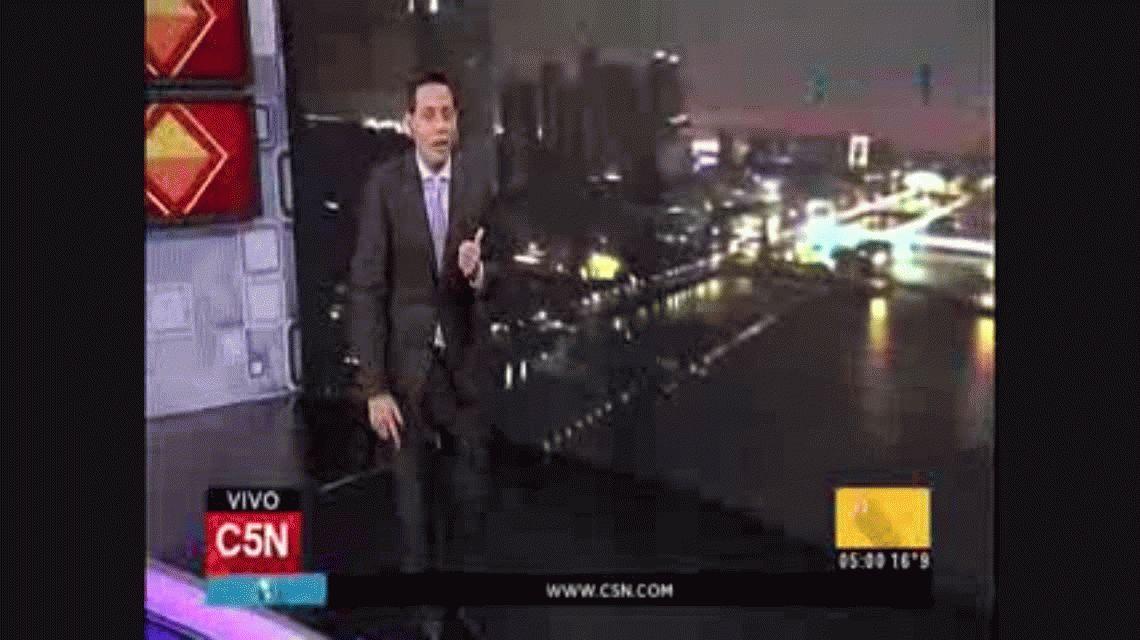 Continúa el alerta por tormentas fuertes en la Ciudad