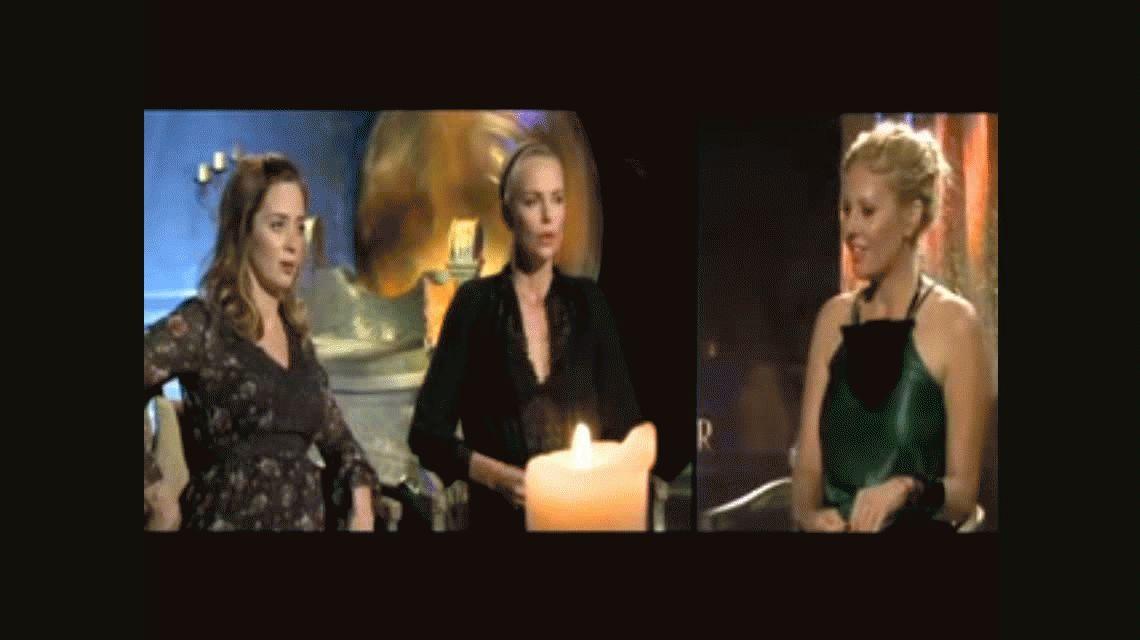 VIDEO: Entrevista exclusiva con Charlize Theron y Emily Blunt