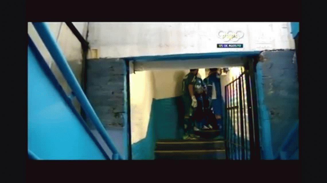 La conmovedora arenga de Saja antes de enfrentar a Atlético Mineiro