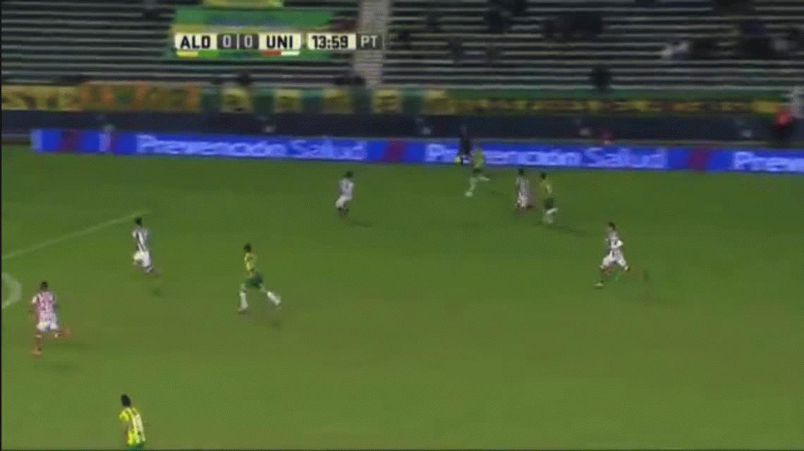 Un suplente le dio el empate a Unión ante Aldosivi en Mar del Plata