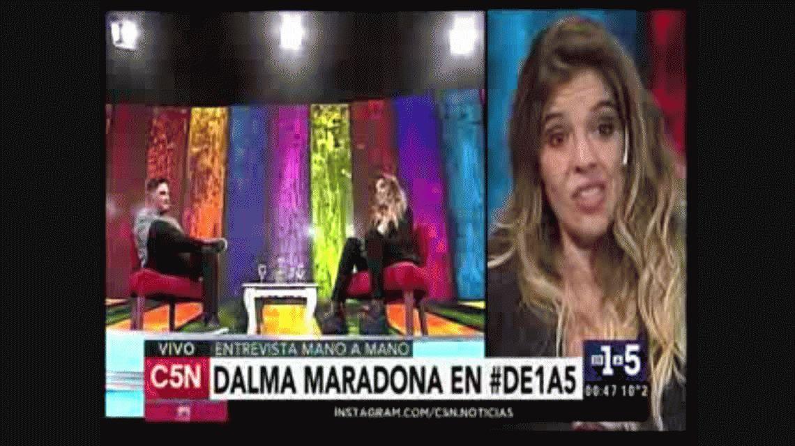 Dalma Maradona sobre Diego y Claudia: Esta situación no tiene que ver con la plata