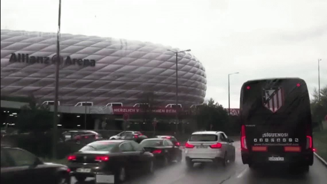 El emotivo video que muestra la intimidad del festejo del Atlético Madrid