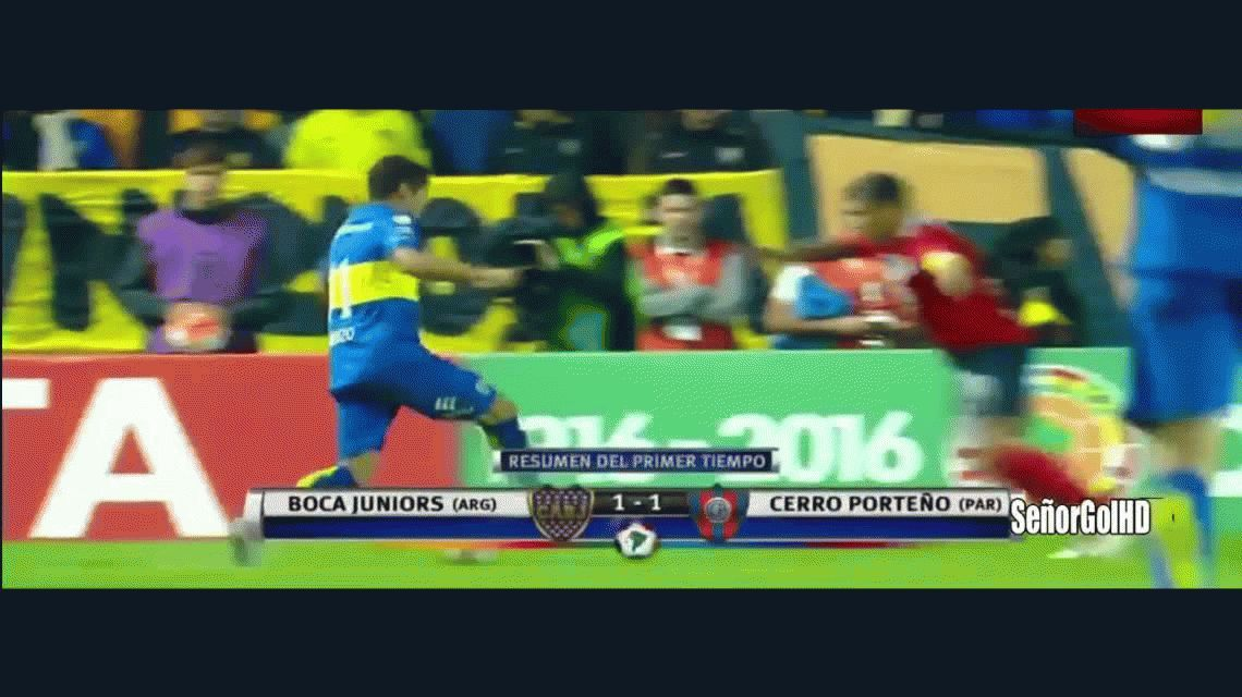 Boca pasó a un duro Cerro Porteño y clasificó a cuartos de final en la Copa