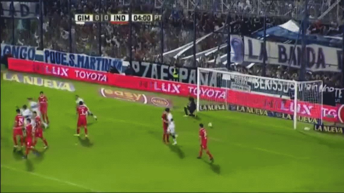 Gimnasia se durmió e Independiente se lo empató en La Plata
