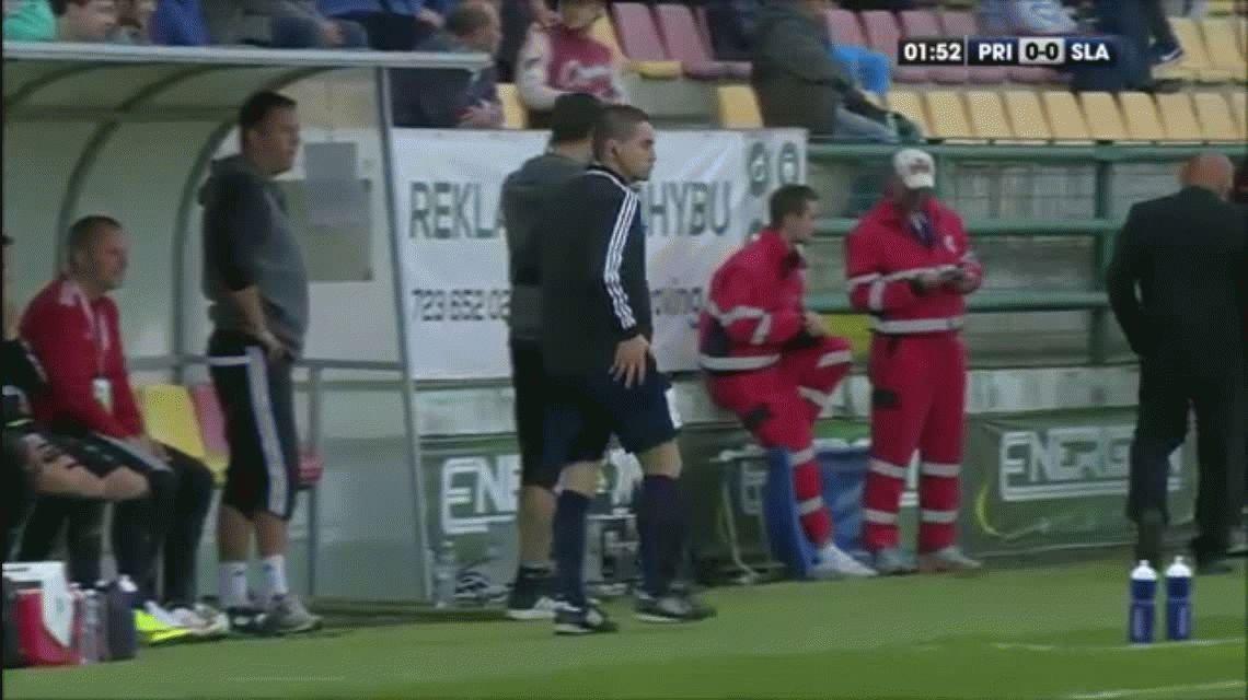 Papelón: un árbitro llegó borracho a un partido y lo tuvieron que echar