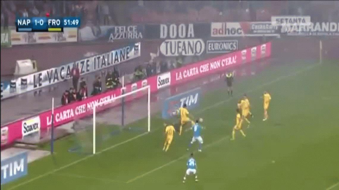 Higuaín hace historia en Italia: es el jugador con más goles en una temporada