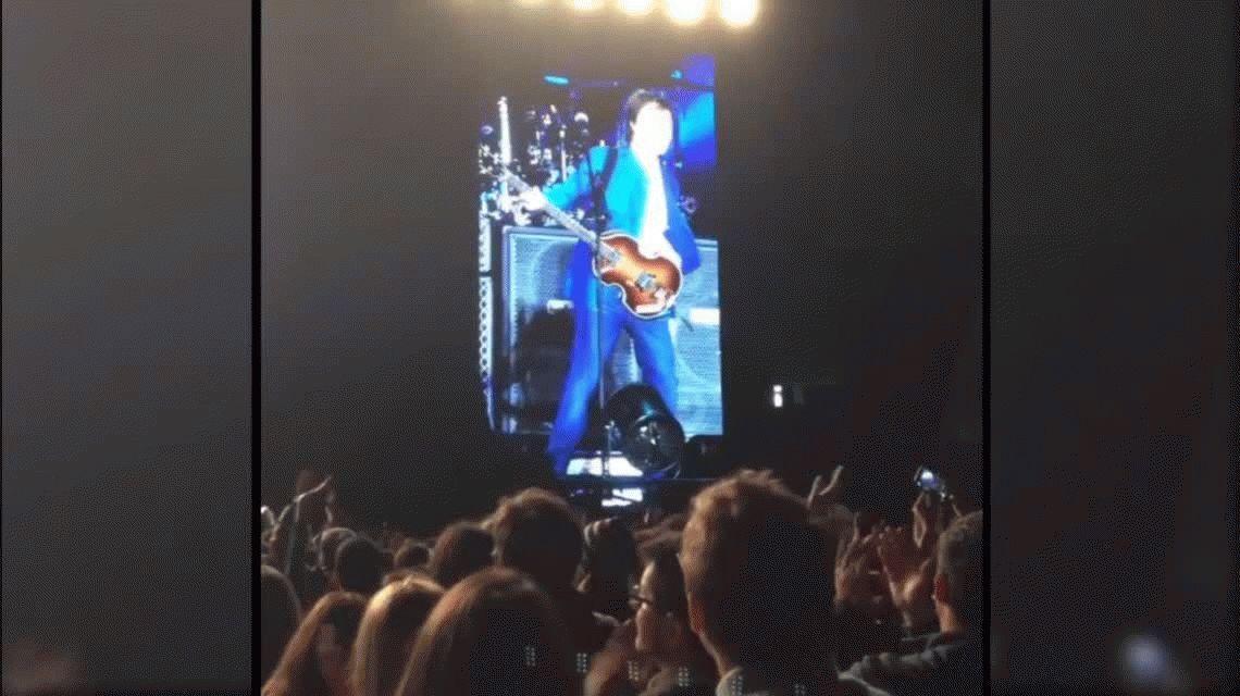 ¡Hola culiados!, el saludo de Paul McCartney ante una multitud en Córdoba