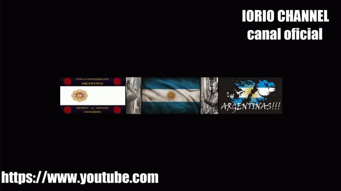 Iorio tiene su propio canal de YouTube