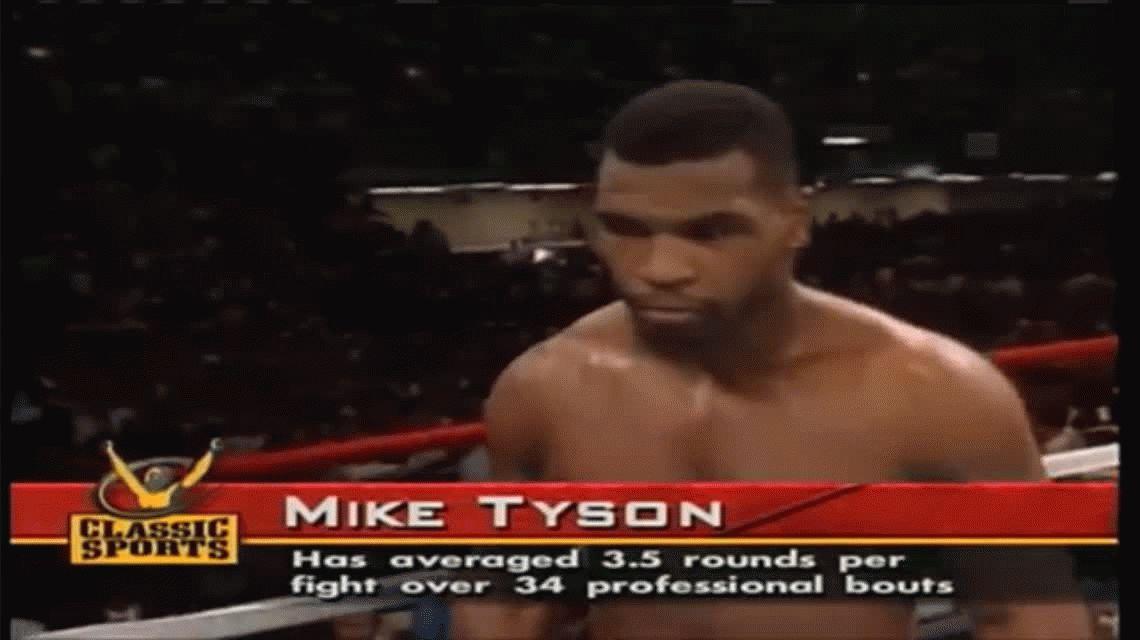 Llega a la Argentina: Mike Tyson contará su historia de vida en el Luna Park