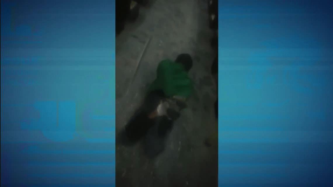 Asaltaron un colectivo y uno fue atrapado por los pasajeros: Ahí, lo até al chancho