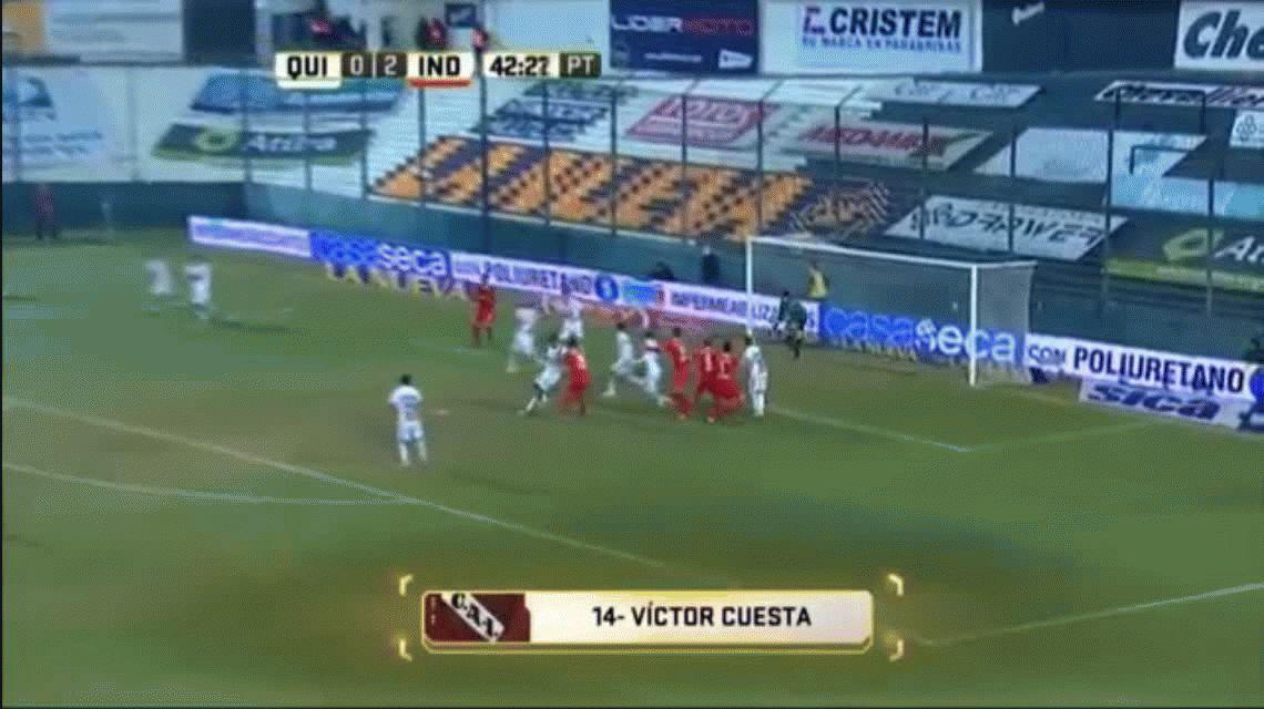 Independiente terminó el torneo con una goleada ante Quilmes en el Sur