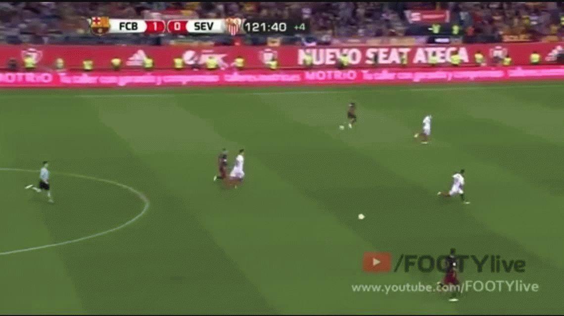 Otra vez campeón: Barcelona venció al Sevilla y se quedó con la Copa del Rey