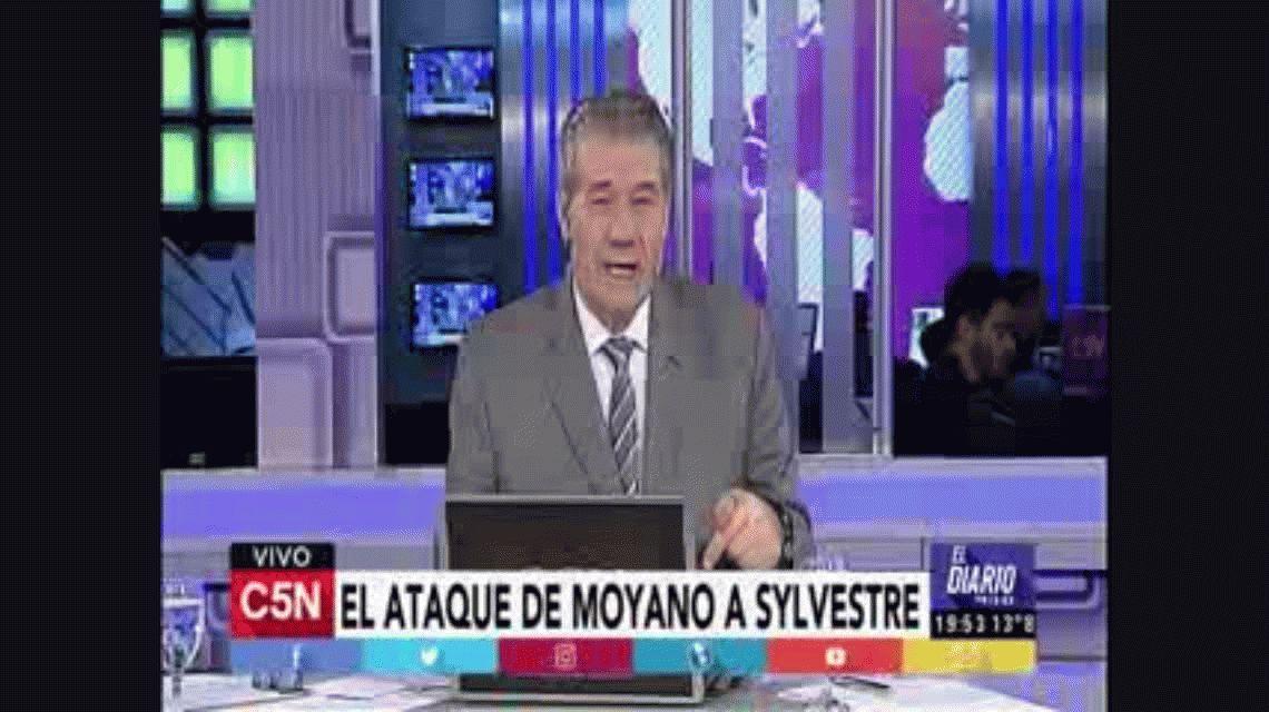 VIDEO:  El ataque de Hugo Moyano al Gato Sylvestre