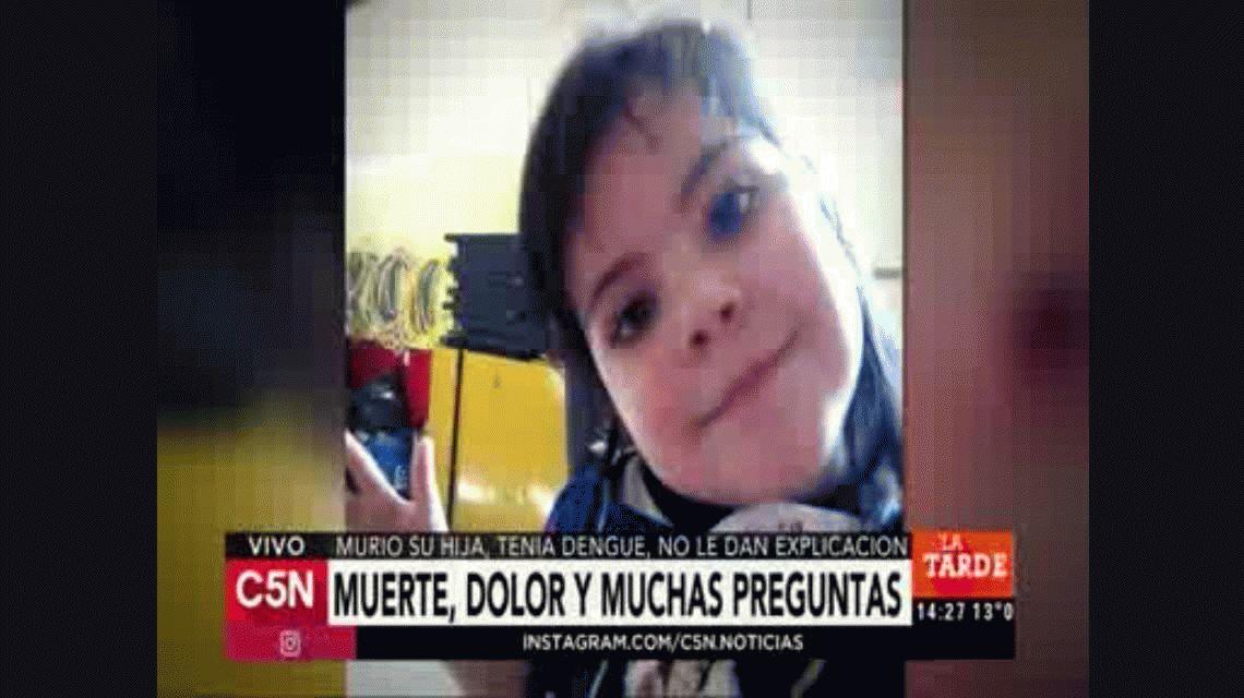 Muerte y escándalo en una clínica: habló la mamá de la nena que falleció por dengue