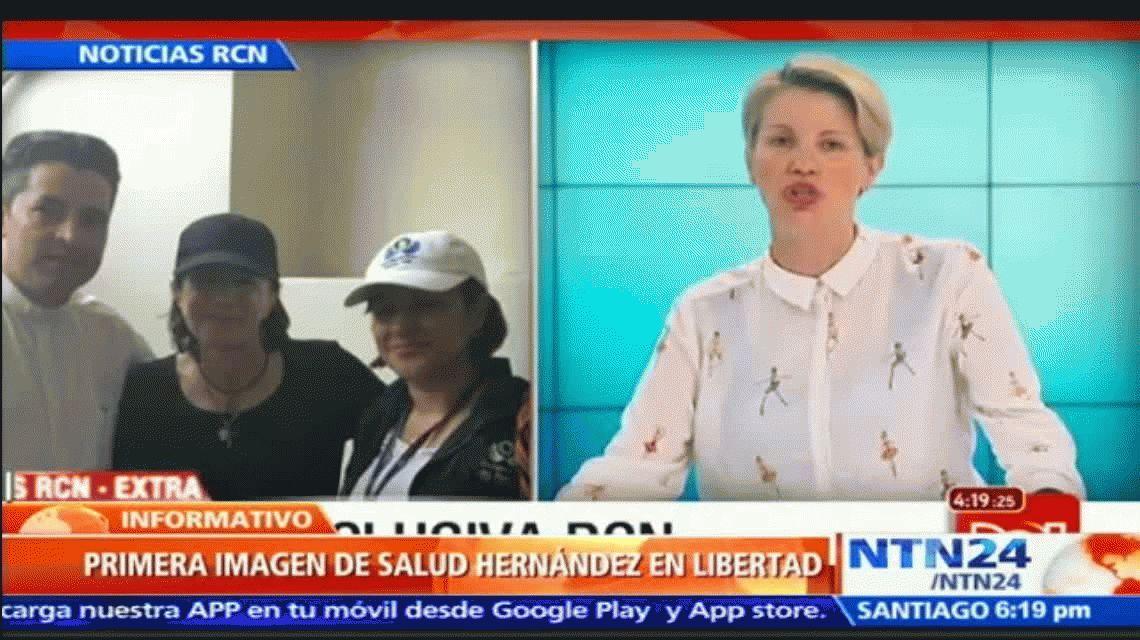 Liberaron a la periodista española  que había sido secuestrada en Colombia