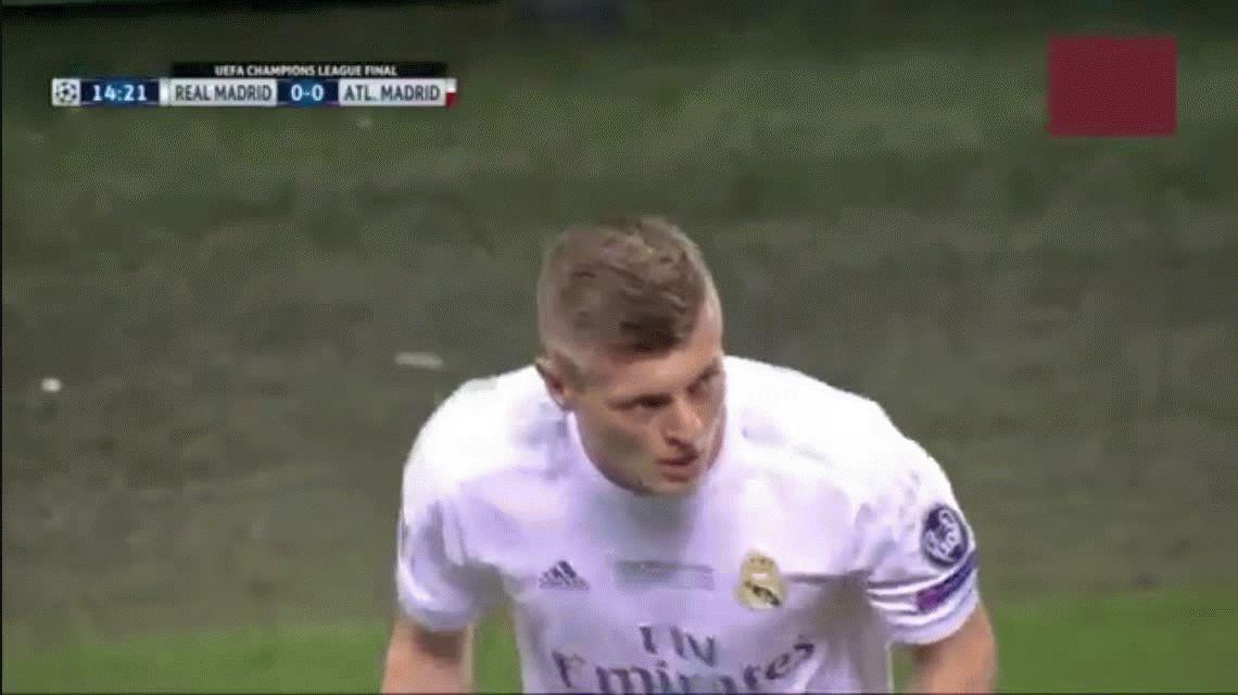 Mirá el polémico tanto con el que el Real Madrid rompió el cero en San Siro
