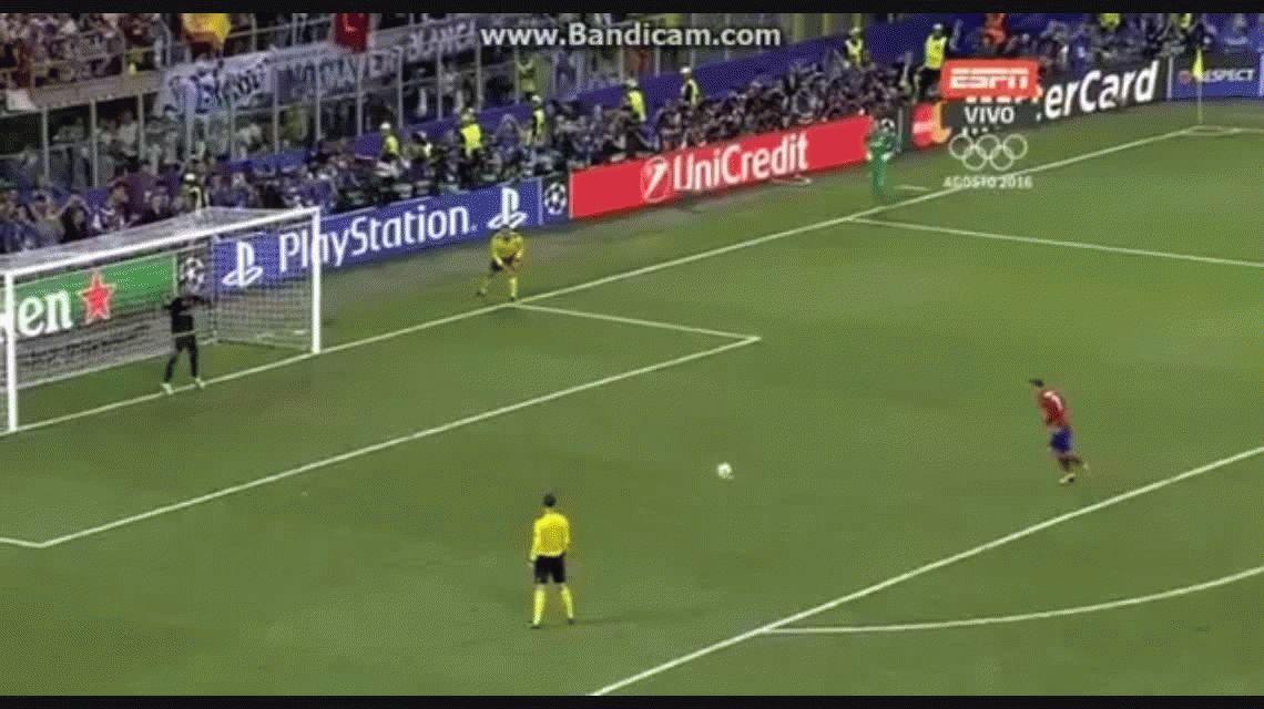 Así fueron los penales que le dieron el título al Real Madrid en San Siro