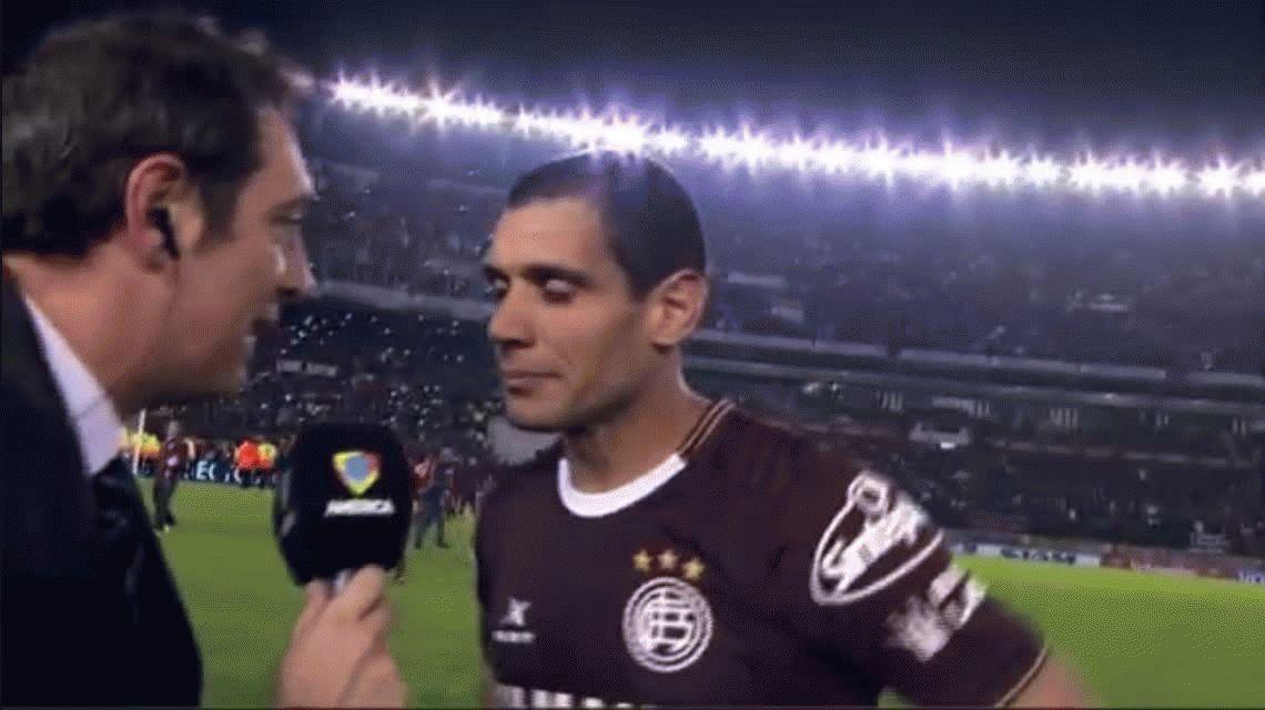 Lágrimas de goleador: la emoción de José Sand tras el título