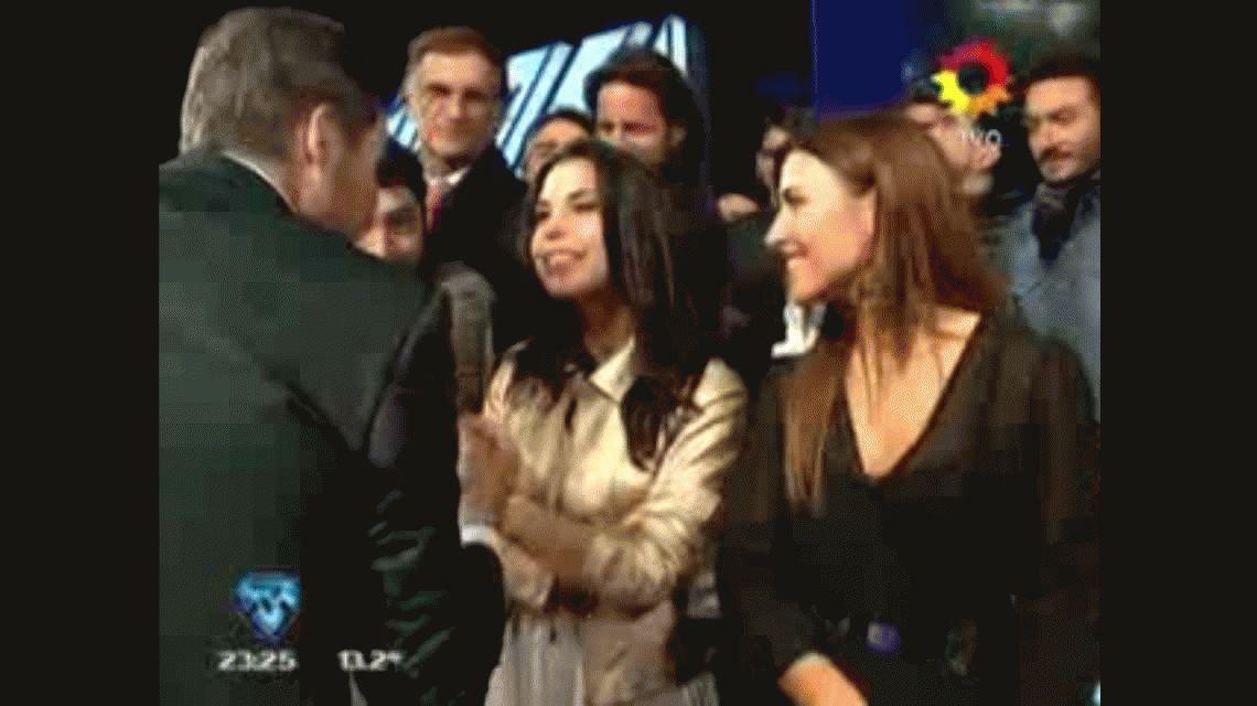 El divertido y picante cruce entre Tinelli, el Chato, su hija y Lourdes: Es todo bizarro