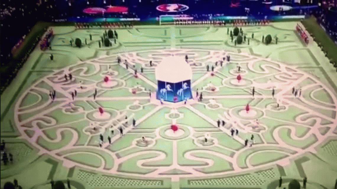 Así fue la ceremonia inaugural de la Eurocopa de Francia 2016