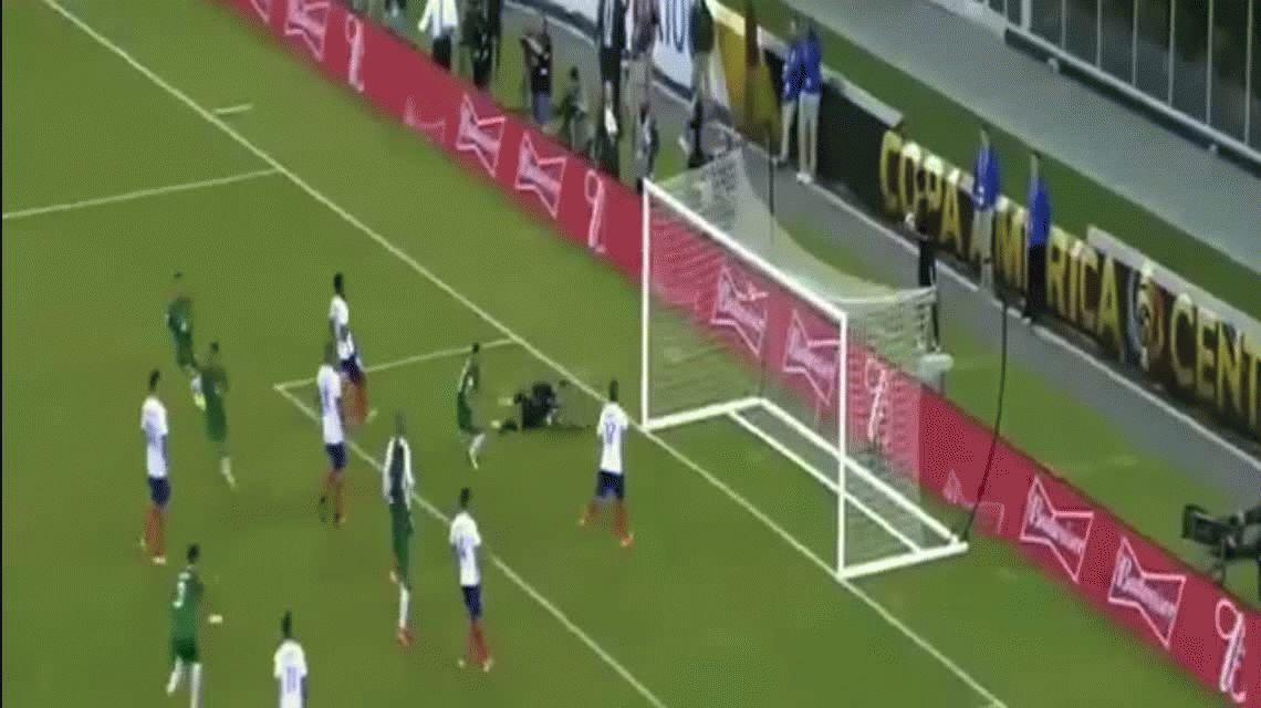 El espectacular gol de tiro libre de Bolivia para poner el empate ante Chile