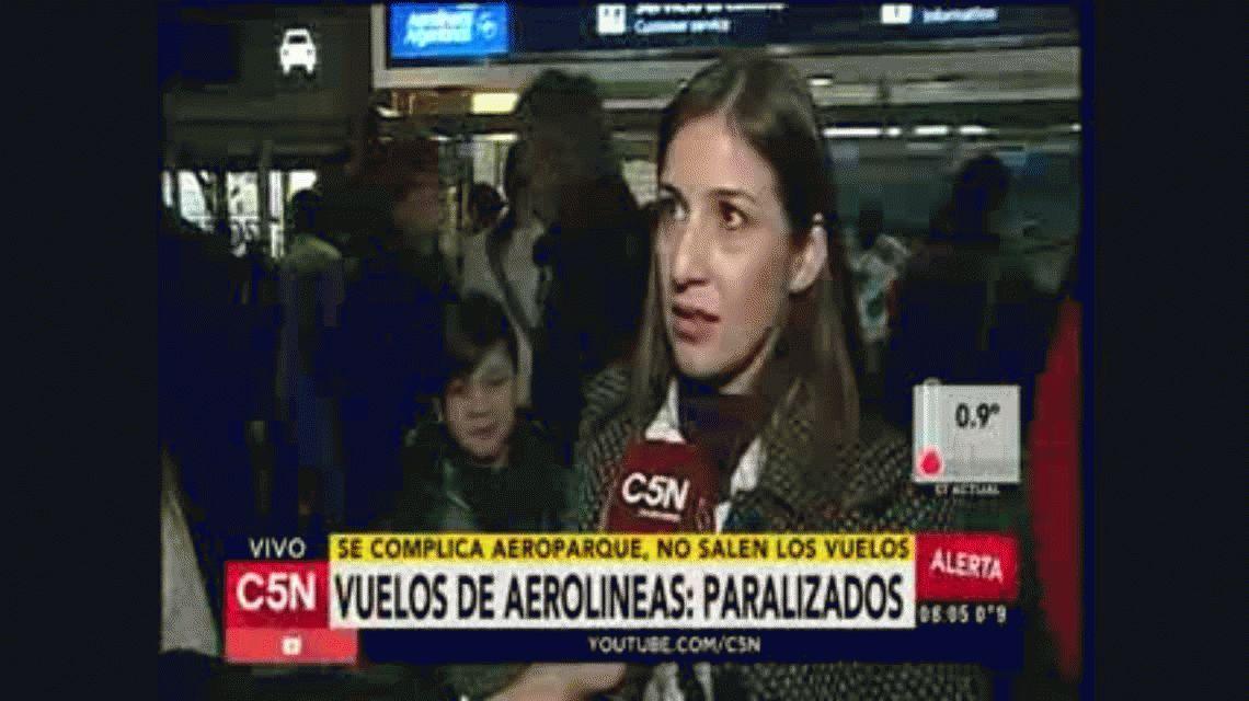 Todos los vuelos de Aeroparque fueron cancelados por el paro de los controladores aéreos