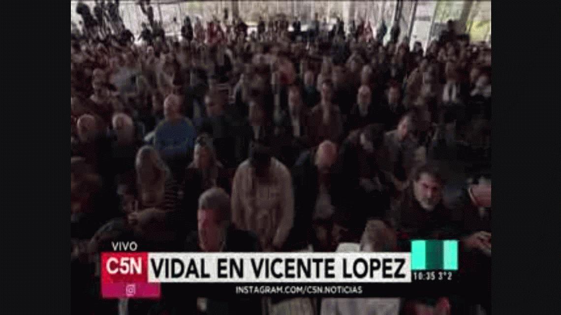 Vidal: A los que quieren la Provincia de la violencia, les vamos a responder con firmeza