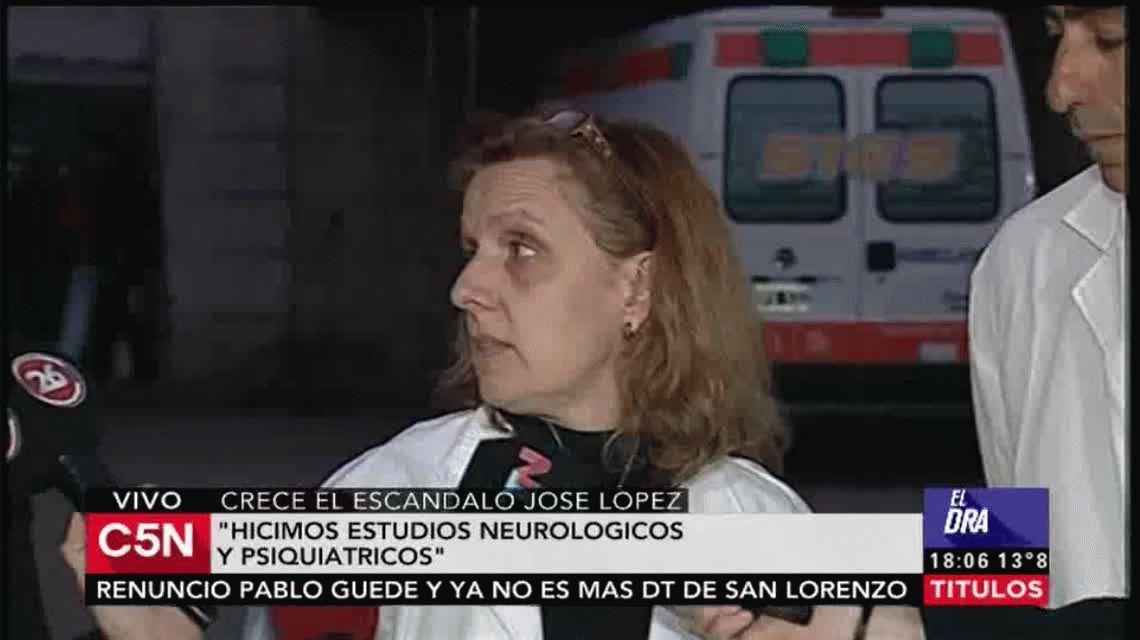 Médicos de General Rodríguez desmintieron a la abogada: López está apto para declarar