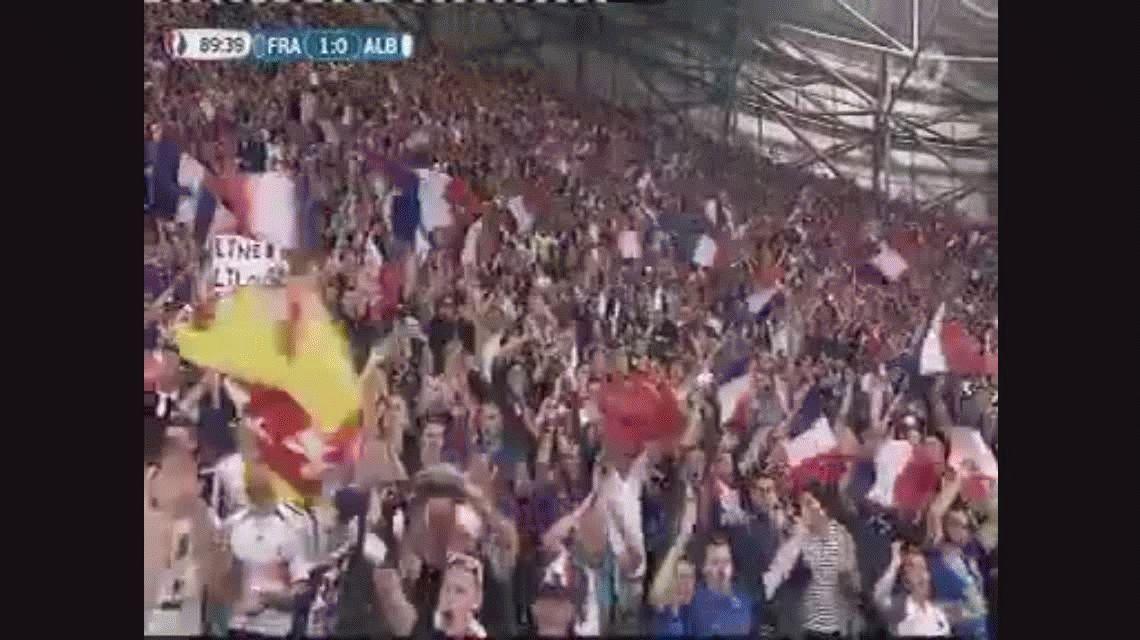 VIDEO: La c... de su madre, la c...de su madre, el grito criollo de la estrella de Francia