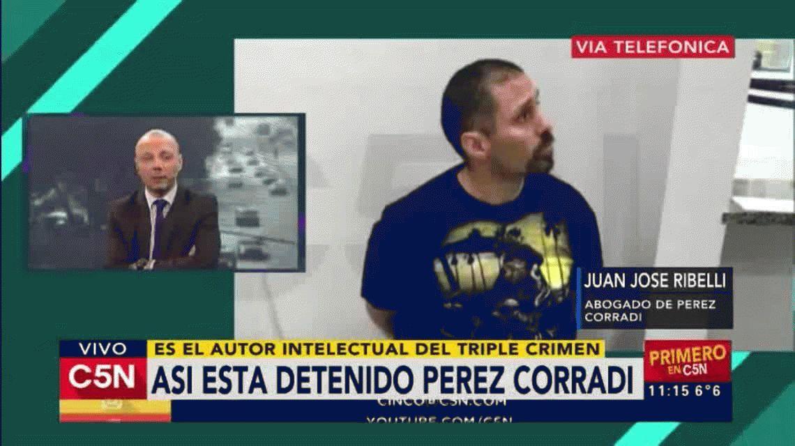 Así está Pérez Corradi hoy, el prófugo más buscado de la Argentina