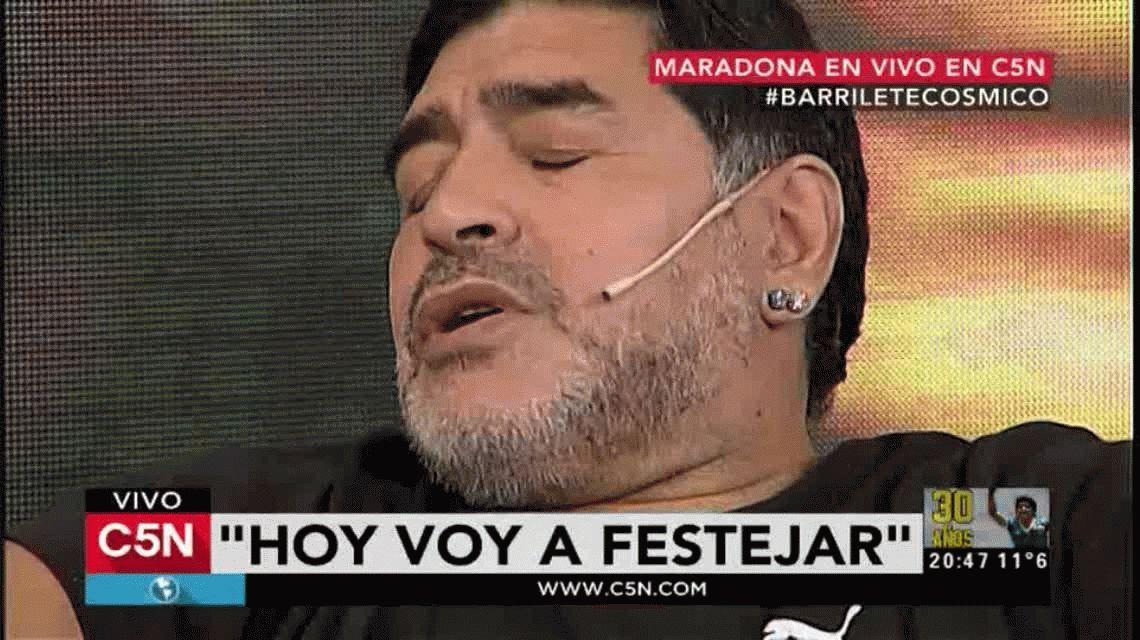 Maradona, en C5N: La sinceridad nos hizo campeones del mundo