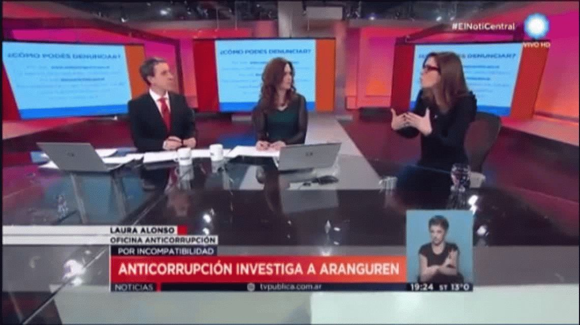 Alonso, sobre Aranguren: Le pedimos a los funcionarios que deleguen la firma
