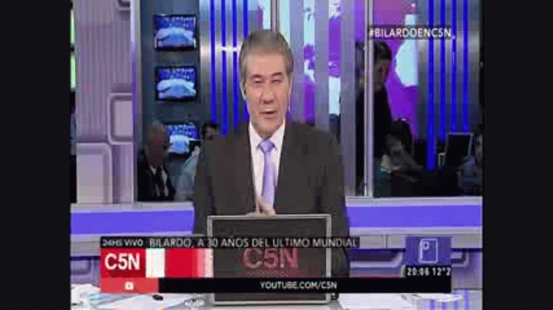 Carlos Bilardo en C5N: A Diego Maradona no le tengo rencor