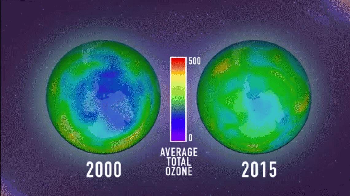Una buena: se achicó el agujero en la capa de ozono