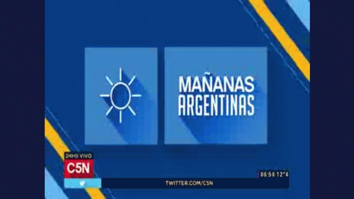 VIDEO: Antonio Fernández Llorente debutó en Mañanas Argentinas