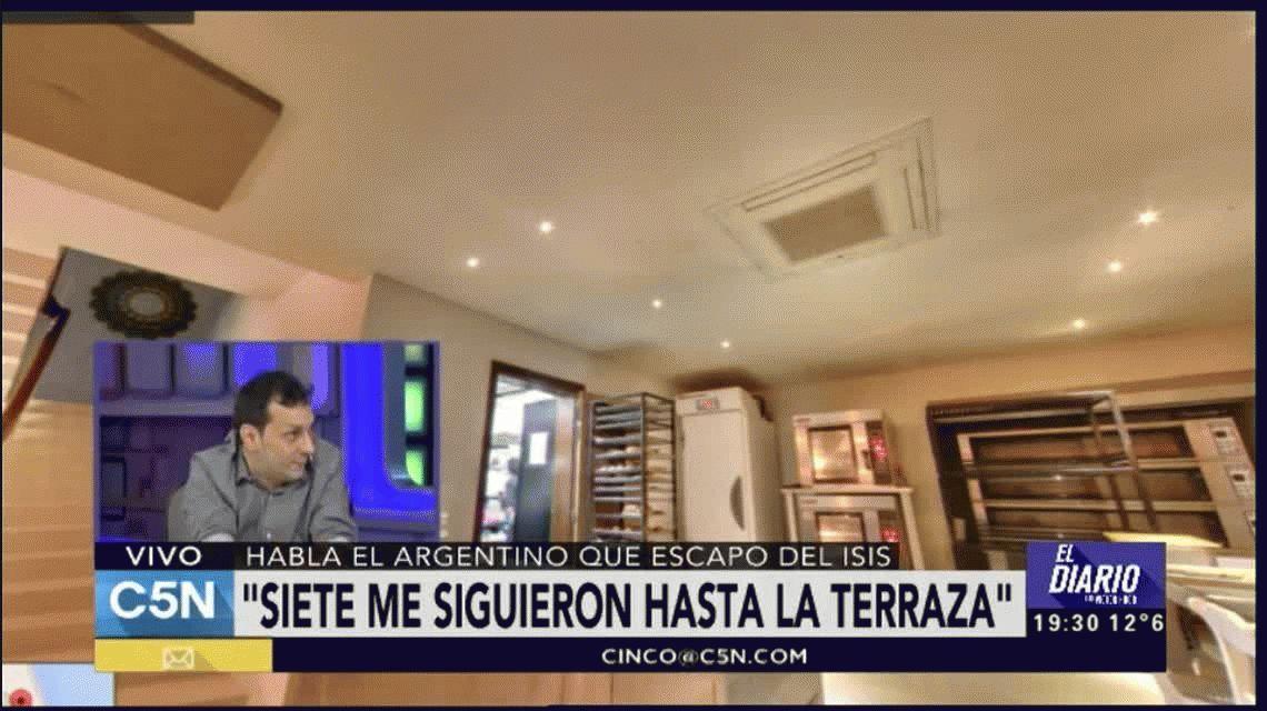 Ver el horror y vivir para contarlo: el testimonio del argentino que escapó del ISIS