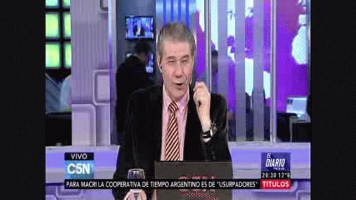 El Vasco Olarticoechea en C5N: Mis referentes son Menotti y Bilardo