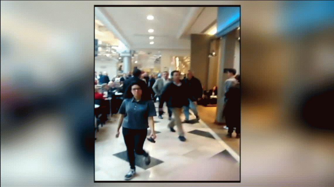 VIDEO: Agredieron a Alberto Fernández en un shopping