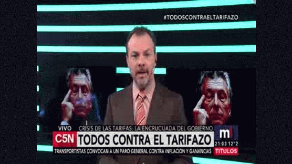 Escrachan al intendente de General Rodríguez en una protesta contra el tarifazo