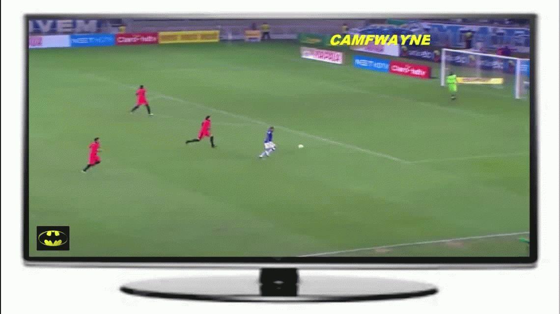 Golazo: Wanchope Ábila y su primer grito oficial con el Cruzeiro