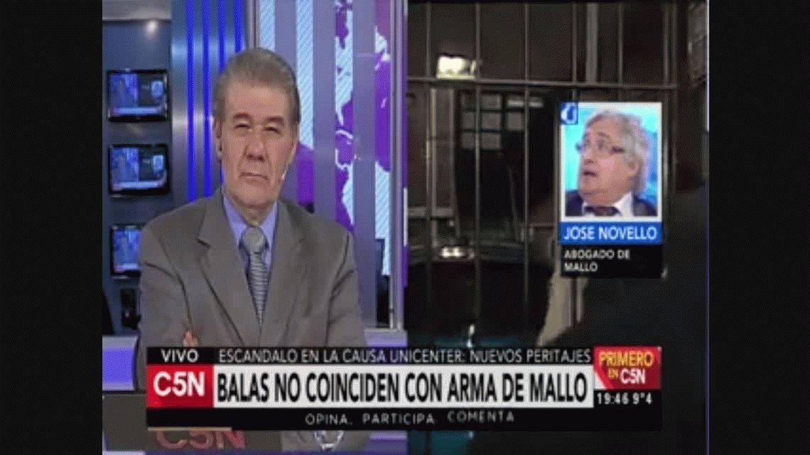 Las balas de Unicenter no coinciden con el arma de Marcelo Mallo